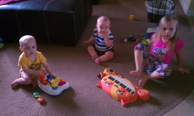 Nora, Nathan, and Jonah